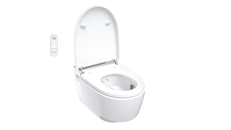AquaClean Mera Comfort chrom в открытом виде
