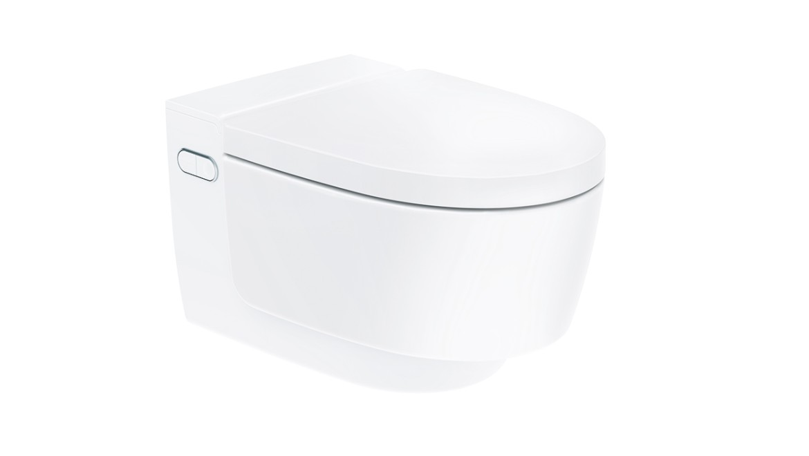 Geberit AquaClean Mera Classic shower toilet with closed lid