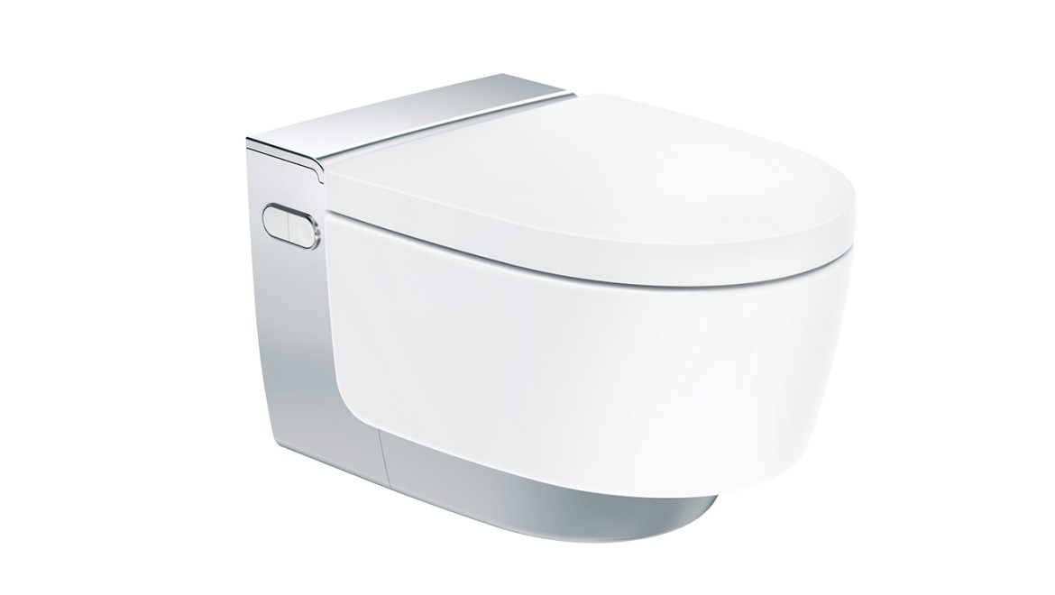 WC-douche Geberit AquaClean Mera Comfort chromé brillant