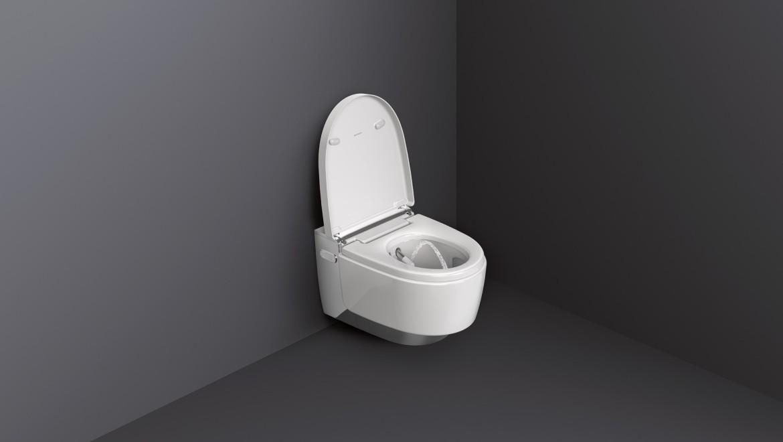 Geberit AquaClean Mera Comfort mit WhirlSpray-Duschfunktion