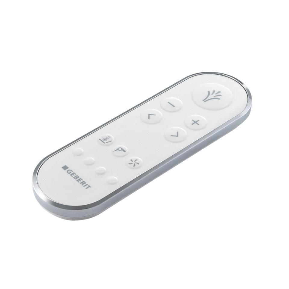 Geberit AquaClean Tuma Comfort shower toilet remote control