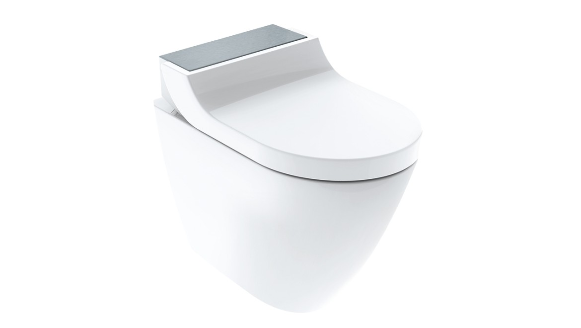 Geberit AquaClean Tuma floor-standing WC complete solution
