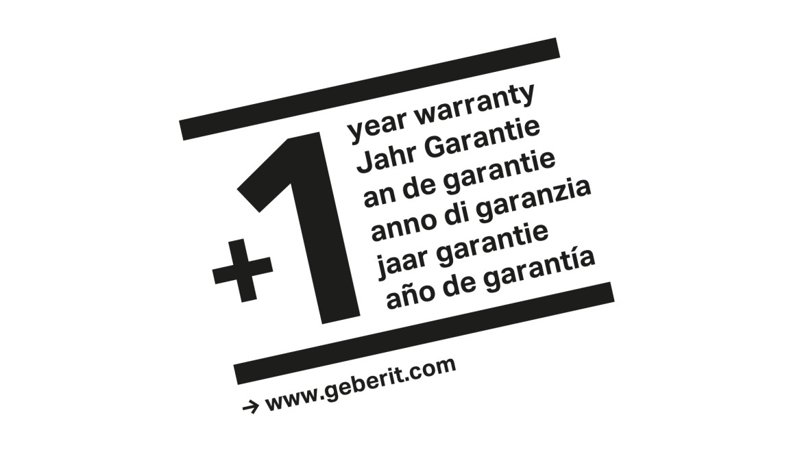 Free Geberit AquaClean warranty extension